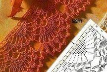 Crochet borders & edging