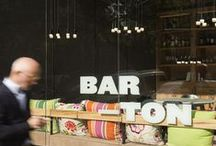 BAR-TON / Barton, located on a corner in the Eixample district, represents a new approach to the Barcelona restaurant scene. The relaxed, informal atmosphere is reminiscent of a rustic tavern and showcases a menu of tapas, main courses and Raw Food.