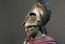 ANCIENT GREEK WARRIORS / ANCIENT GREEK