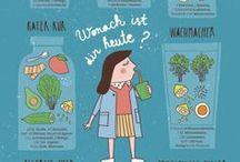 Food Infographics / Yummy tasty groovy infographics