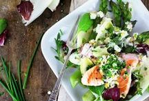 Quick Salads for a healthy lunch! / Delicious Salads you need to try!