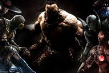 Mortal Kombat X - Official kombat cast