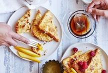 Breakfast & Brunch Ideas for the Weekend / Brunch is magic that becomes true every weekend.