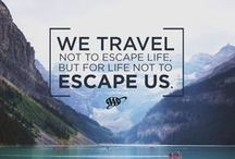 Travel Quotes / Inspirational travel quotes that will spark your wanderlust … Your love for adventure can take you anywhere in the world on your next vacation. Let these famous words come to life one destination at a time. / by AAA
