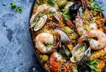 Healthy Seafood Recipes / We love the ocean- and Seafood! These are our favorite Seafood Recipes. Enjoy!