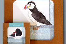 Melamine Mats and Coasters and Pot Stands / Place Mats, Coasters and Pot Stands with illustrations by Iona Buchanan