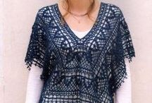 Crochet crazy - Ponchos, capes, cowls, collars and other