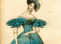 Biedermeier fashion templates