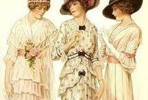 Edwardian, La Belle Épouqe fashion templates