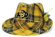 Colorado Buffaloes / CU Buff gear and accessories by The Honour Society. Hats, arm warmers, scarves for the Colorado student or alumni fan.