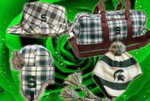 Michigan State Spartans / Stand out from the crowd with our Officially Licensed Spartans gear by The Honour Society! Unique hats, scarves and our extremely popular Weekend Bag! http://www.thehonoursociety.com/msu