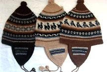 Knitted hats, headbands, earwarmers and so on / by By Ann