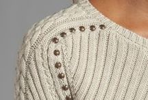 Inspiring knitting details / by By Ann