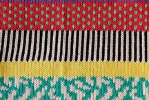 Knitting: color pattern