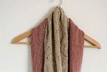Knitting: cowls, wraps, scarfs