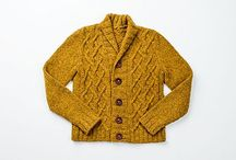 Knitting: sweaters, cardigans