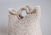 Knitting: bags