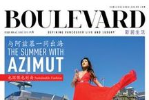 Boulevard Magazine Covers / Magazine Cover Design, Vancouver Boulevard