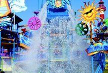 Amusement/Water Parks / amusement park rides / by Expresso Latte