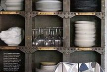 Foodie Digs / Kitchens, dining spaces and restaurants in which we'd like to hang