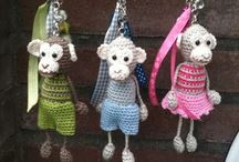 Miniature knitting and crochet / by By Ann