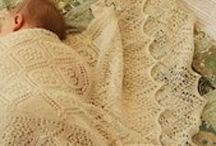 Knitted and crochet baby and kids blankets / by By Ann