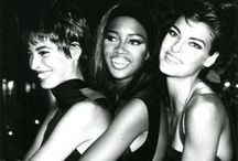 1990's Fashionistas / Take a look at the most iconic supermodels that walked the 90's fashion runways.