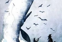 """Follow the White Whale / """"Because everyone has their own whale…"""" 