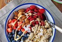 Snack it Up / Whip it up and go or prep it before - delicious and healthy snacks to help fuel all your activities.