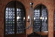 Rustic Chandeliers / Create a feeling of luxury and grandeur in your own four walls.