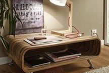 Trend Board: Wood Lighting / Natural charm: wood tones produce special cosiness.