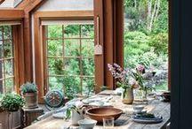 Idées Déco: Veranda, salle à manger