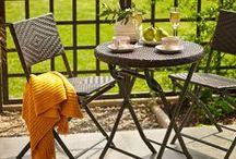 mi terraza perfecta <3 / ideas de un pequeño jardin para mi balcon