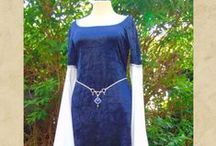 Medieval Fantasy Dress and Jewelry