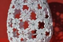 Art: Quilled Designs / Beautiful quilled paper hearts, flowers, animals and letter designs