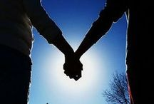 Life: Hugging & Hand Holding / There is a special chemistry that is created when we hug and/or hold hands with another -- a sharing of energy that connects us on many levels.
