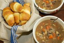 Soups / Soups, stews, chili any just about anything else that is served in a bowl.
