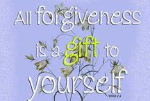 All About Forgiveness / If everyone could practice forgiveness in their own personal lives it would have a profound ripple effect of peace throughout the world.