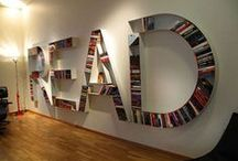 Architecture: Book Displays / Innovative ideas for storing and displaying books as well as comfy, innovative reading nooks