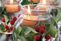 Inspiración Navideña / Ideas para vestir tu hogar del calor navideño.