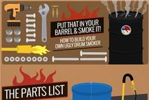 Rather Be Smokin' / We're no strangers to using smokers. Here are some DIY ideas to spark some creativity on makin' your own.