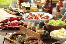BBQ Party Theme Ideas / Whether you're throwin' a baby shower or a backyard wedding reception, these ideas are sure to make your next celebration stand out.