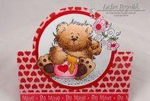 OCS - Love / ONECRAZYSTAMPER.COM - Handmade Cards of Love