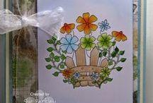OCS - Spring / ONECRAZYSTAMPER.COM - Handmade cards for the Spring