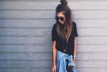 grunge / boho / chill / excuse my overwhelming love for tryer hats, ripped pants, and homeless chic.