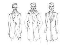 MAN sketchs / man fashion sketch/illustration