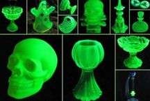 Uranium Glass 222 / Love Of Green Glowing Glass