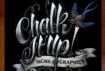 Art: Chalkboard / Chalkboard Art that I love.