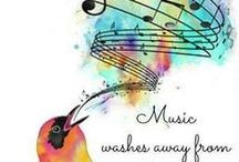 Art: Healing Music / Music helps to heal us and the world.