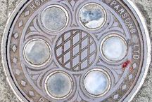 Art: Manhole Covers / A collection of creative, unusual and/or beautifully decorated manhole covers.